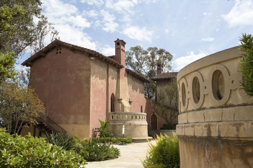 The estate where the motherhouse of the Sisters of the Most Holy and Immaculate Heart of the Blessed Virgin Mary was located in Los Angeles on July 2, 2015.