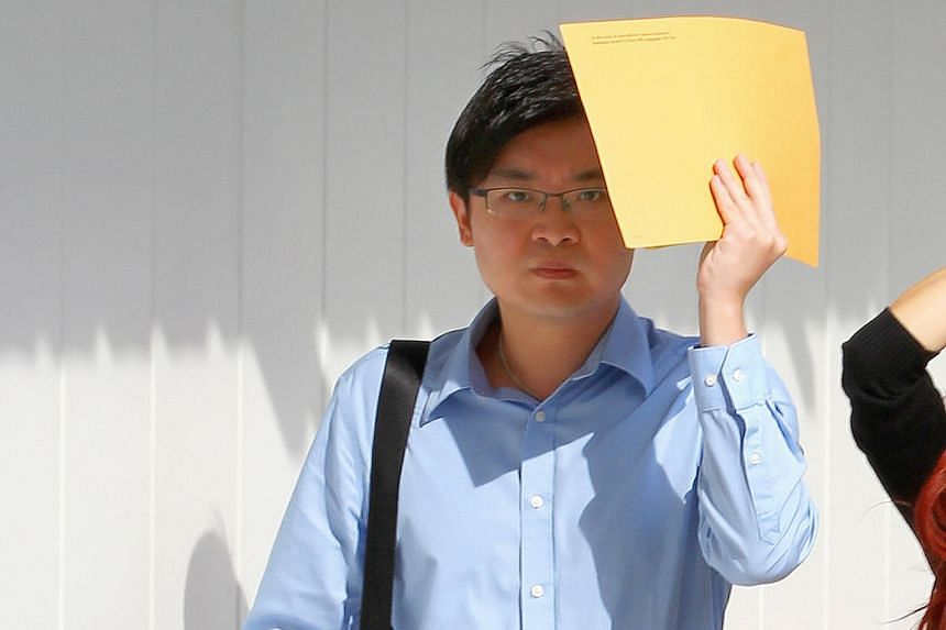 Ricky Widjaja (above) admitted to 13 of 52 counts of scheming with Thomas Tong Heng Huat to use a computer to access a program called Margin Maker 2 with the intention to cheat Singapore Pools.