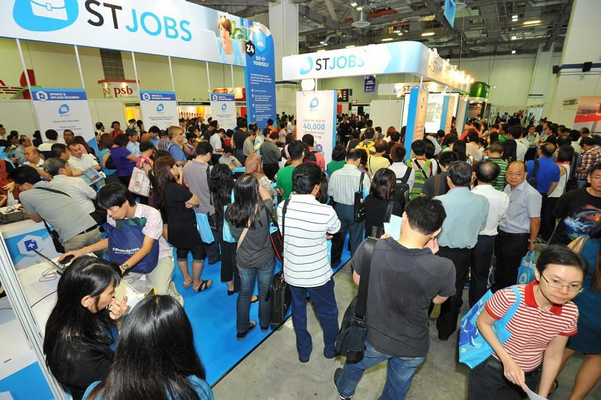 The two-day annual event organised by career portal STJobs is one of the biggest career fairs in Singapore, with 200 employers from 16 industries participating.