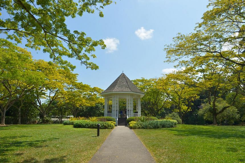 The Bandstand within the Botanic Gardens.