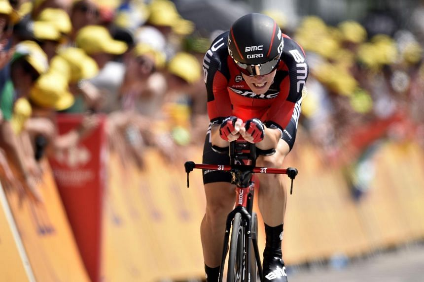 Rohan Dennis will wear the first yellow jersey of the 2015 Tour de France.