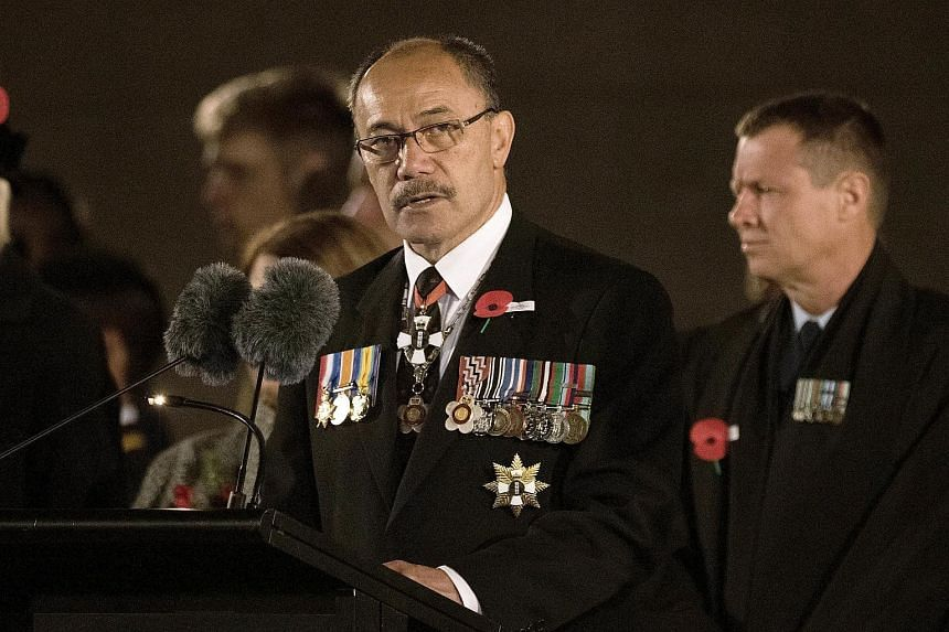 New Zealand's Governor-General Sir Jerry Mateparae (pictured) is in Singapore for a three-day state visit beginning on Monday.