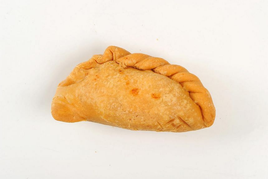 Old Chang Kee's curry puff came in second.