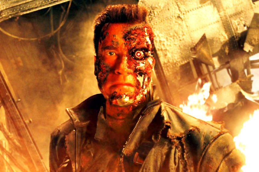 Financial Times employee Sarah O'Connor's tweet about a robot which killed a man in an industrial accident in Germany sparked a wave of responses which made references to the Hollywood movie Terminator (above), which had a female protagonist name