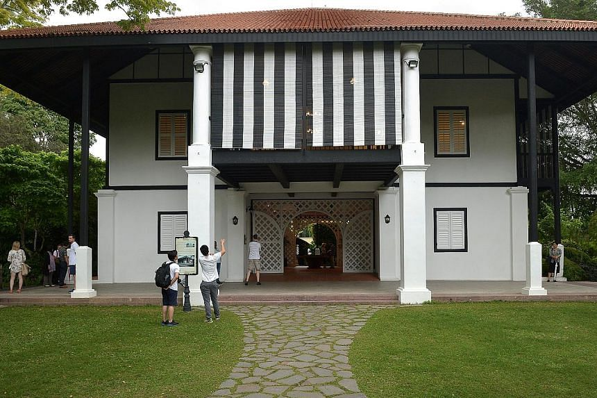 Burkill Hall is an Anglo-Malay plantation-style house dating back to 1868. It is believed to be the last such bungalow in the region.