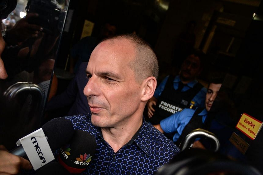 The euro rose Monday after Greece's Finance Minister Yanis Varoufakis announced his shock resignation.