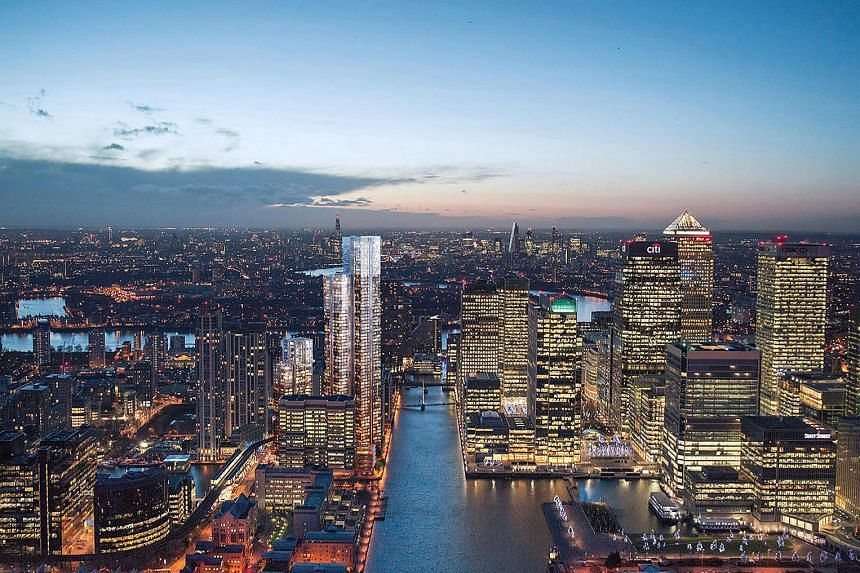 Berkeley Homes is launching South Quay Plaza, a mixed-use development in Canary Wharf in London.