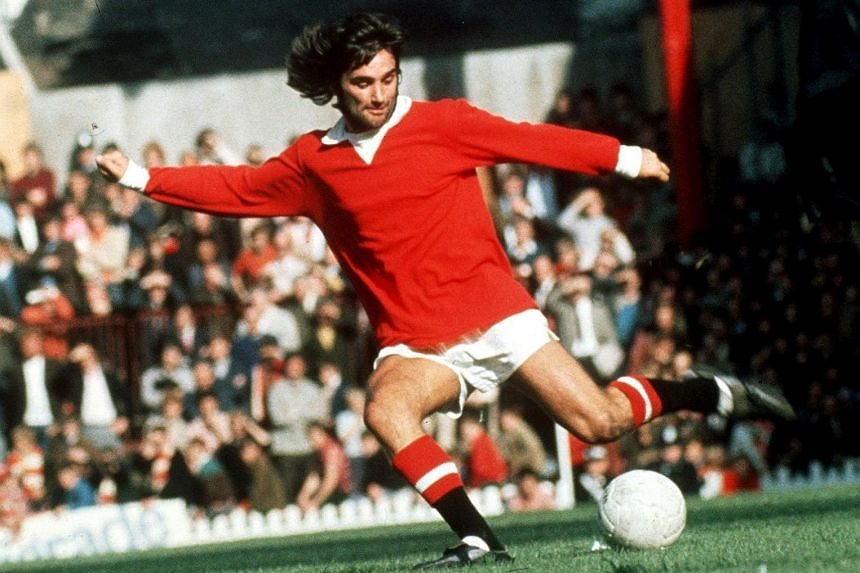 Former Manchester United player George Best.