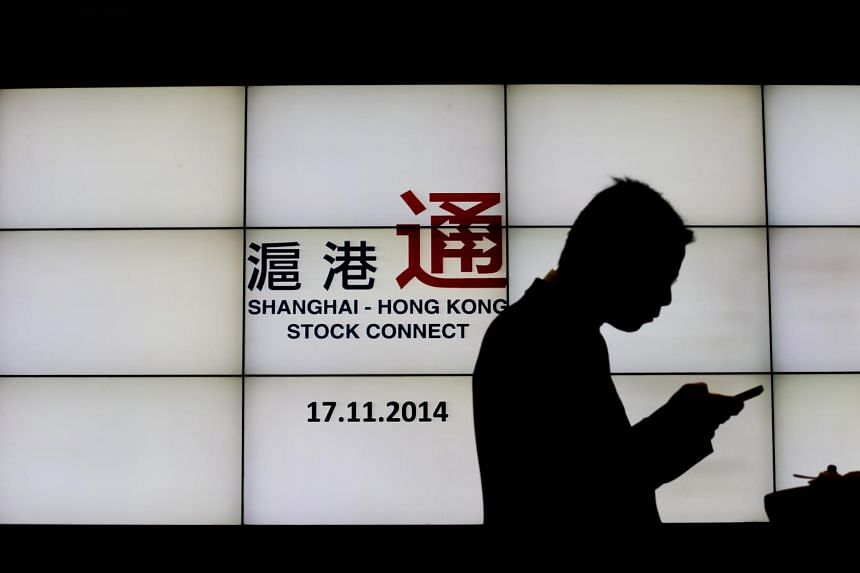 The launch of the Shanghai-Hong Kong exchange link on Nov. 17, 2014, one of the nation's most significant steps in opening its capital markets.