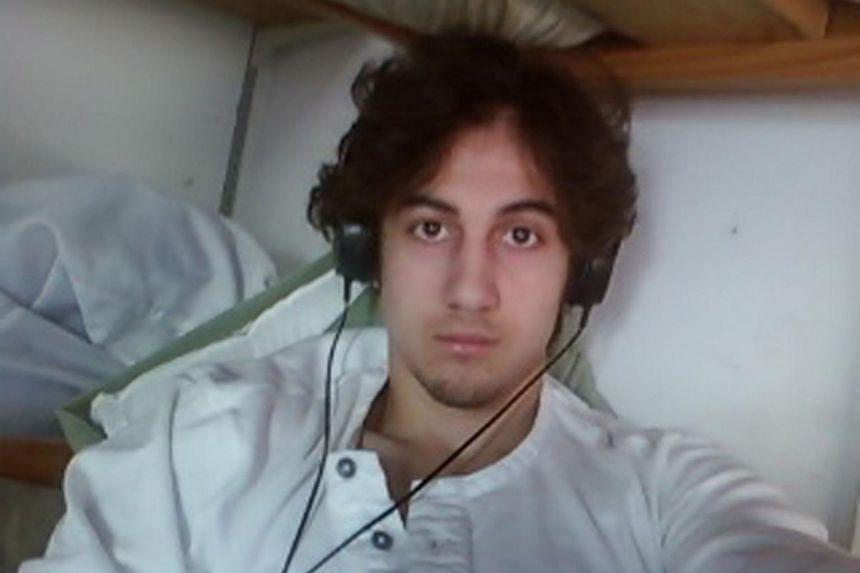 Dzhokhar Tsarnaev, convicted bomber of the Boston Marathon on April 15, 2013.