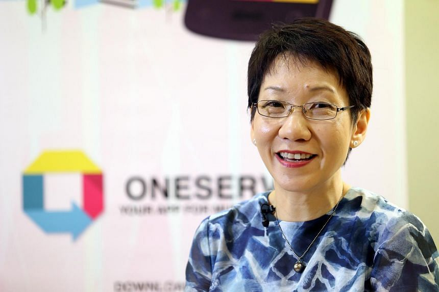 Minister in the Prime Minister's Office Grace Fu, who heads the Municipal Services Office.