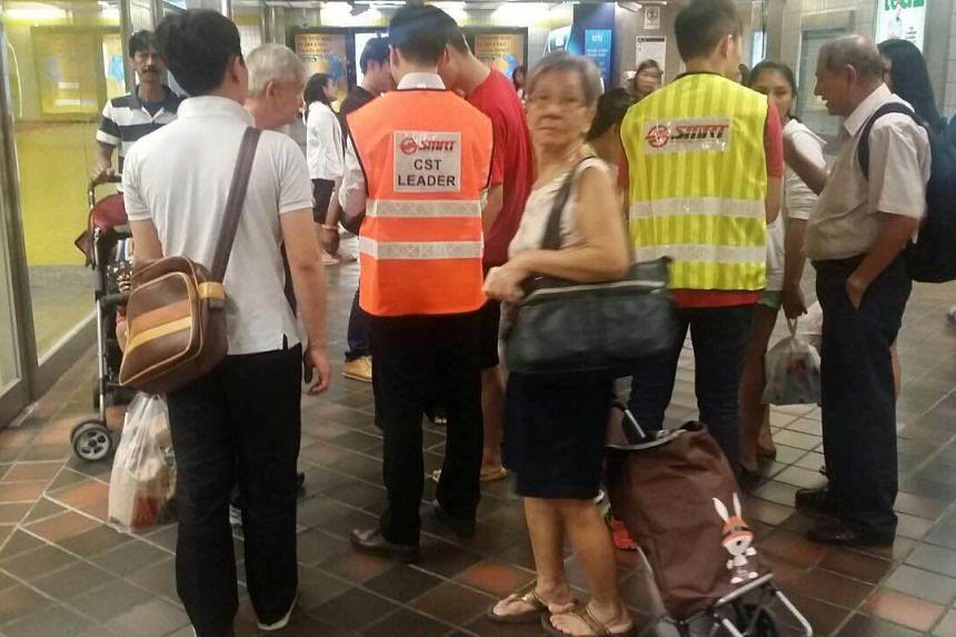 Toa Payoh MRT Station on July 7, 2015.