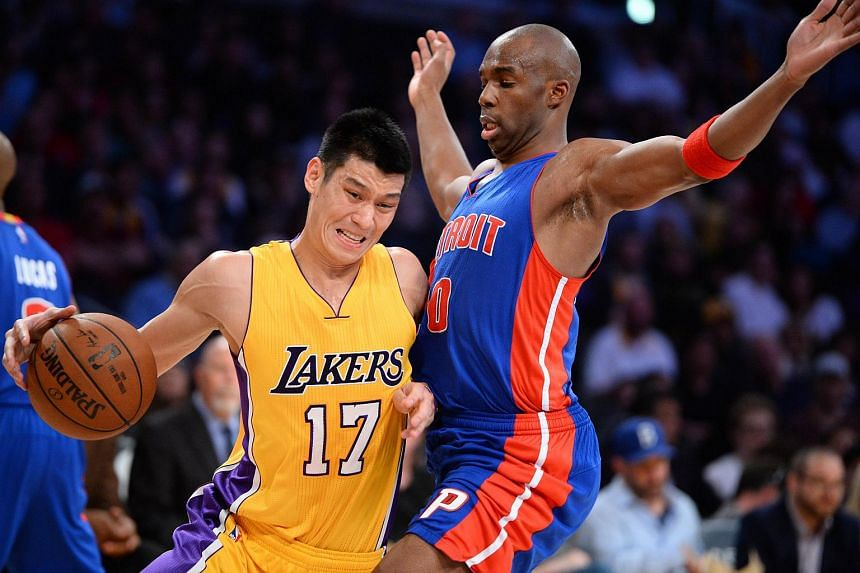 Jeremy Lin (left) is rumoured to be joining the Dallas Mavericks.