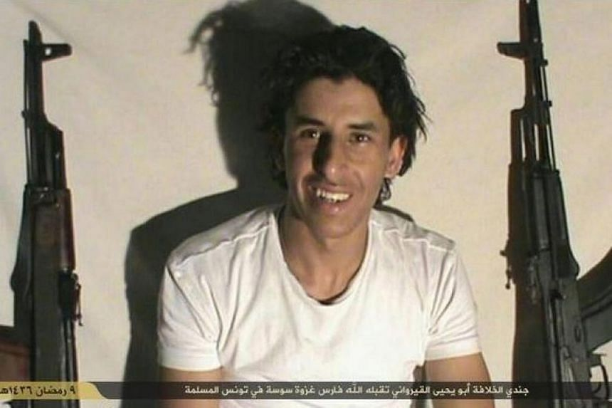 Tunisian Seifeddine Rezgui, believed to be the gunman who killed 38 people in the holiday resort of Sousse.