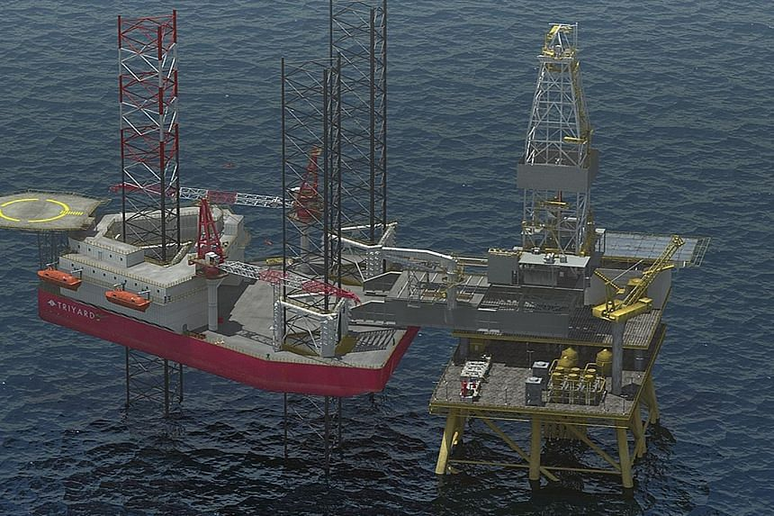 Triyards Holdings believes there will be continued demand for its offering as it not only builds drilling rigs such as the TDU-400 (above), but its business also involves aspects of the production process.