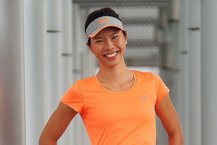 Sarah Pang, national tennis player.