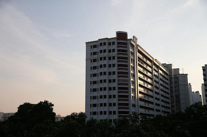 HDB flats at Bedok North Road.