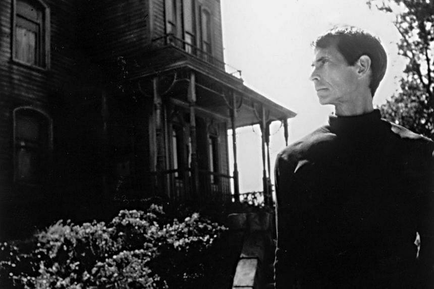 A scene from Alfred Hitchcock's Psycho.