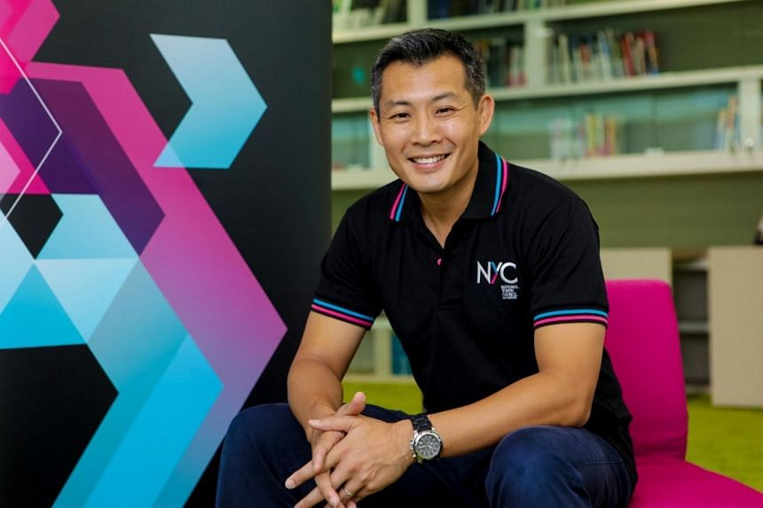 David Chua is the National Youth Council's first CEO.