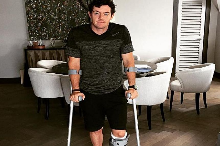 Rory McIlroy in a photo from his Instagram page.