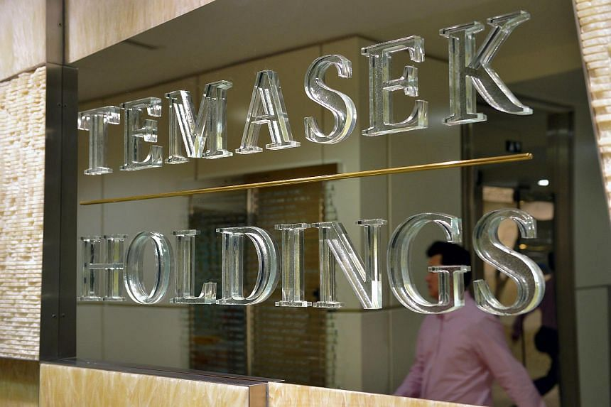 The Temasek Holdings office at The Atrium@Orchard.