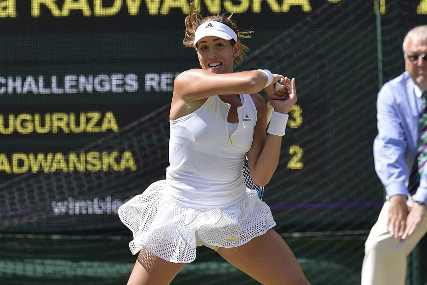 The raw power of Garbine Muguruza played a major part in the 21-year-old Spaniard beating 2012 runner-up Agniezska Radwanska to reach the Wimbledon women's singles final.