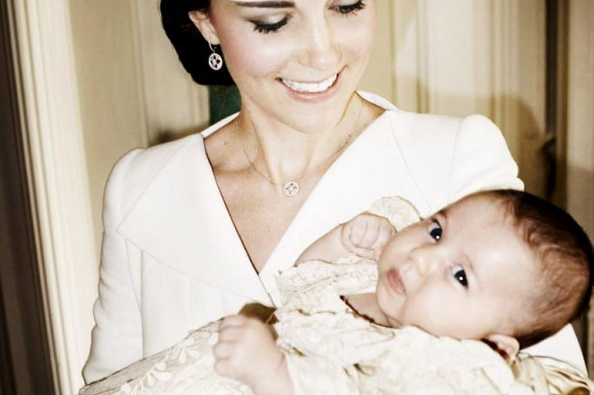 Catherine, the Duchess of Cambridge, and her daughter, Princess Charlotte.