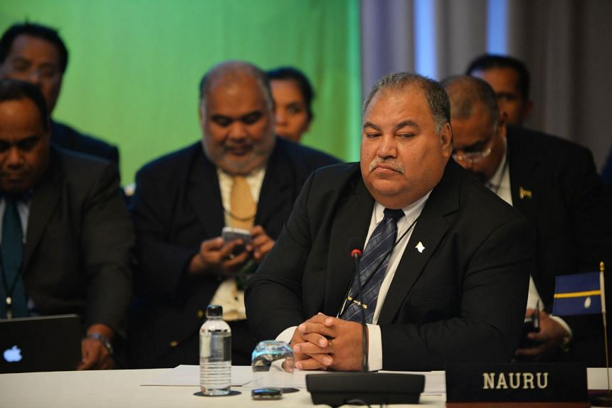 Waqa attends the Pacific Islands Forum Foreign Ministers Meeting in Sydney on July 10, 2015.