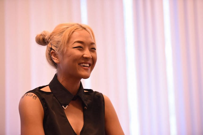 Korean-American singer-songwriter Lydia Paek, who is signed to YG Entertainment as a songwriter.