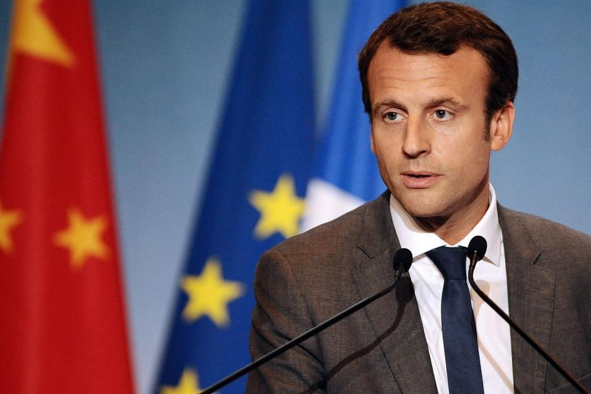 """French Economy Minister Emmanuel Macron said Friday he was """"reasonably optimistic"""" on the possibility of the eurozone reaching an agreement with Greece."""