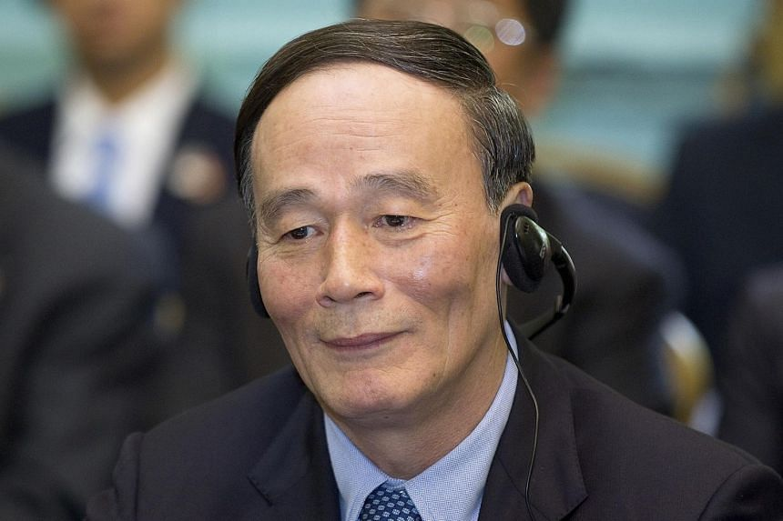Mr Wang Qishan heads the Central Commission for Discipline Inspection.