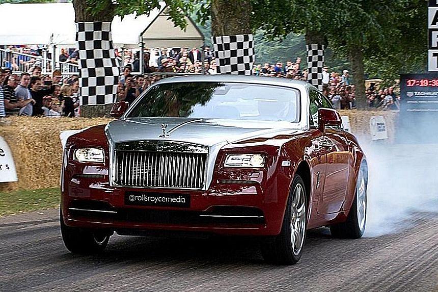624bhp Rolls-Royce Wraith.