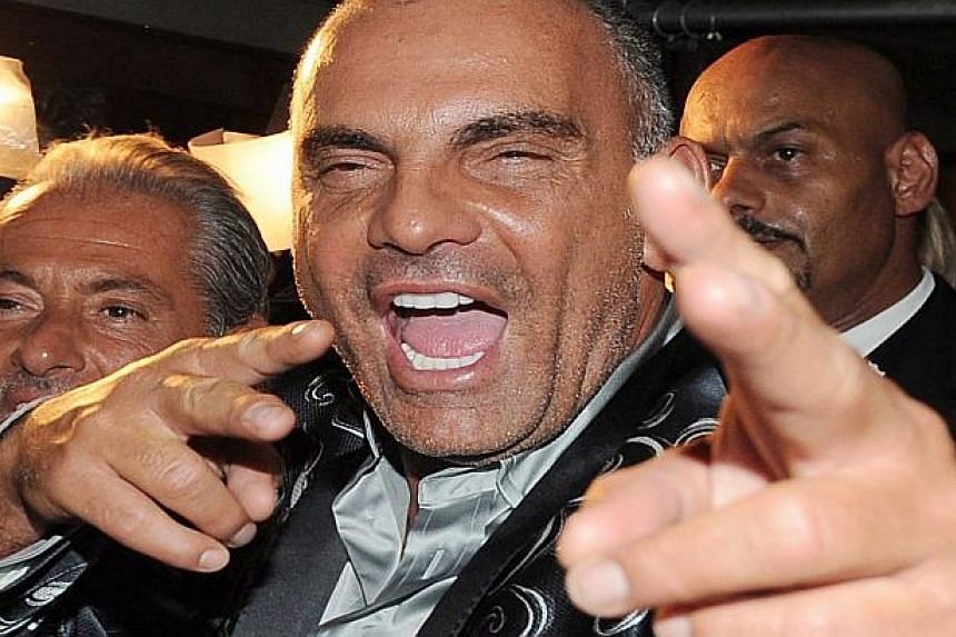 "Christian Audigier made his fortune with ""street wear"" which became a hit with celebrities."