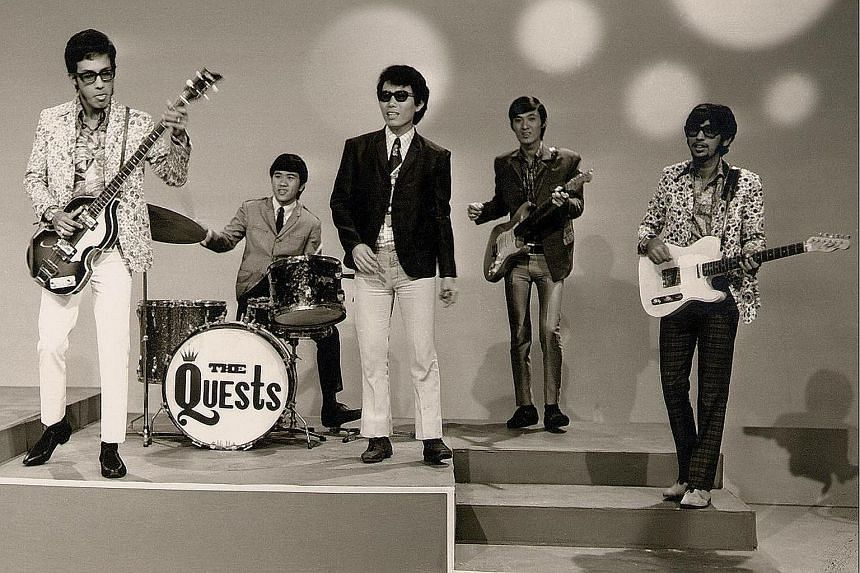 The band in their heyday.