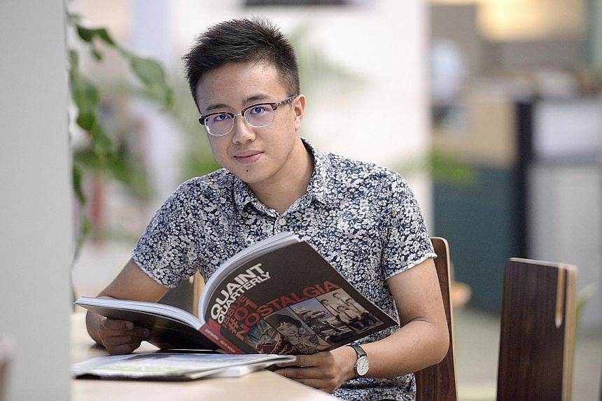 Student Samuel Wong believes in investing early and taking the conservative approach to generate returns over the long run.