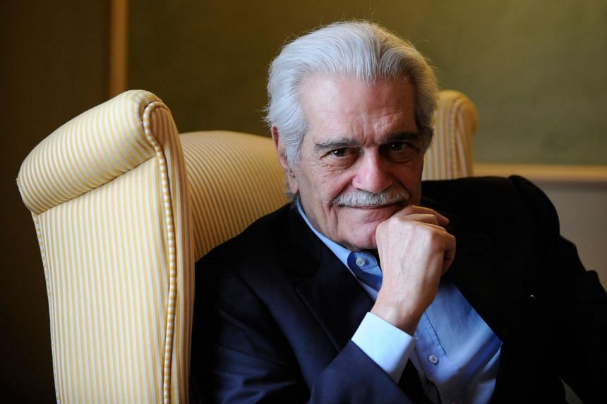 Cinema legend Omar Sharif, who will be forever remembered as the eponymous Doctor Zhivago, will be buried Sunday in his native Egypt after a funeral service at a Cairo mosque.