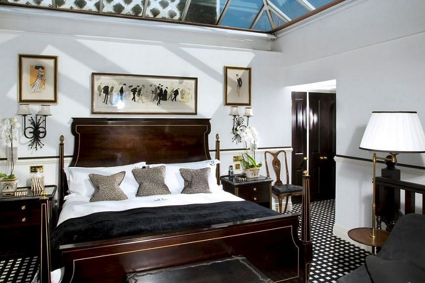The glass-roofed Penthouse Conservatory Suite in Hotel 41.
