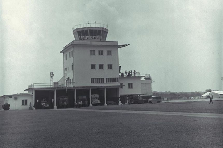 Seletar Airbase (above) was used as a military airport when it opened in 1930.