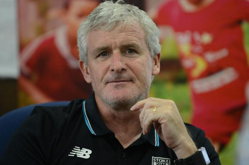 Mark Hughes, who attended a football community coach education programme at Jalan Besar, says Stoke can benefit from Johnson's experience.