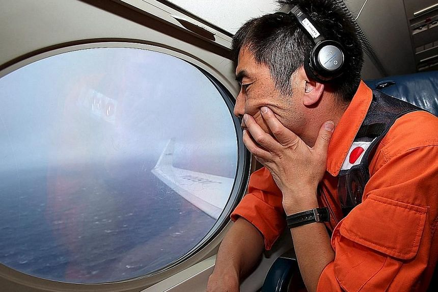 Japan Coast Guard's Mr Koji Kubota was one of those who participated in the search over the southern Indian Ocean for debris after Flight MH370 went missing in March last year.
