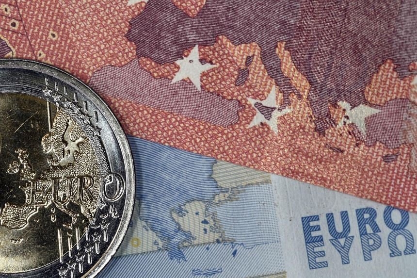 The euro was slightly down against the dollar in Asian trade on Monday.