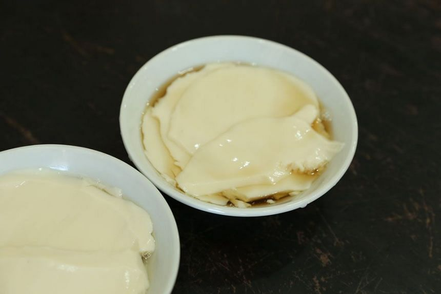 MUST TRY: Mrs Bean is one of the top suppliers of tau huay in town.
