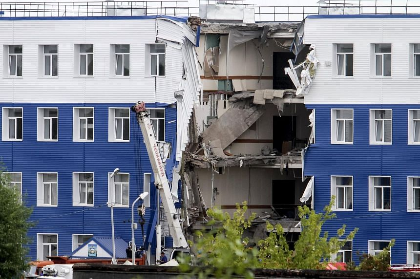 At least 23 soldiers were killed when a military barracks collapsed in Russia's Omsk region, Russian news agencies said on Monday, July 13, 2015.