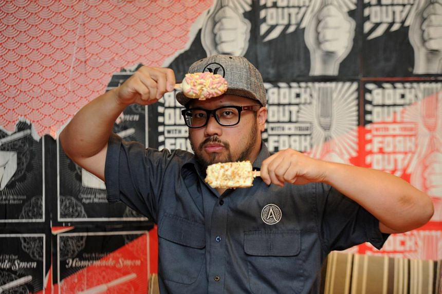 Chef Bjorn Shen has another brand called Neh Neh Pop, which sells double-coated ice-cream popsicles.