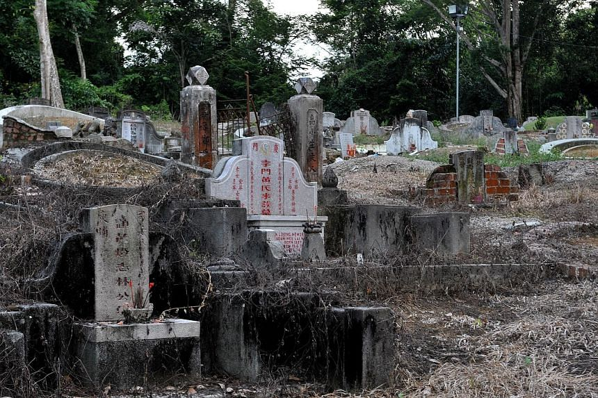 There are more than 200,000 graves at Bukit Brown Cemetery.
