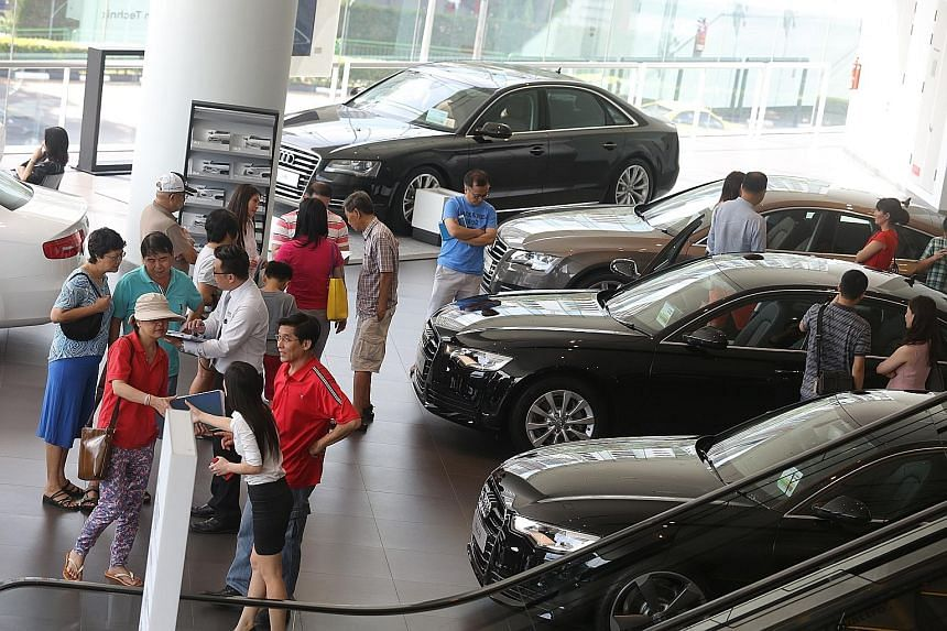 The number of car COEs will rise by 18.3 per cent to 6,207 a month.