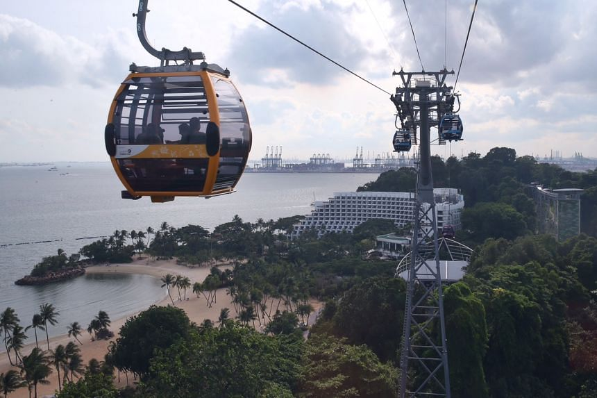 The new cable car sky network and the new Sentosa Line that officially launches on July 14, 2015.
