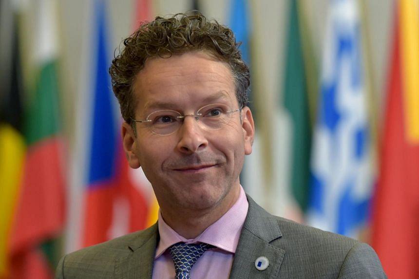 Jeroen Dijsselbloem has been re-elected as head of the Eurogroup.