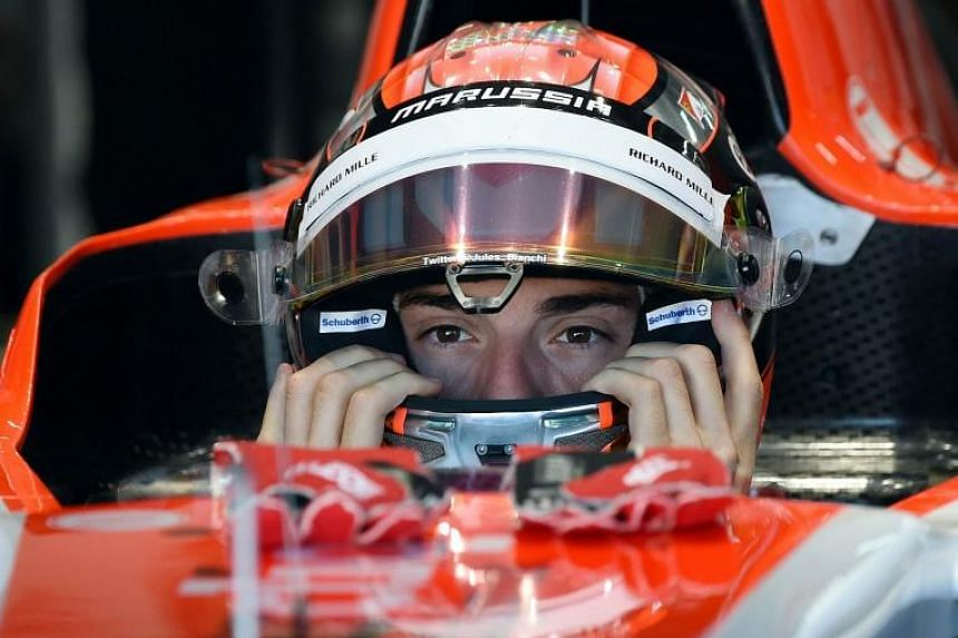 Jules Bianchi suffered severe head injuries in a Japanese Grand Prix crash last October.