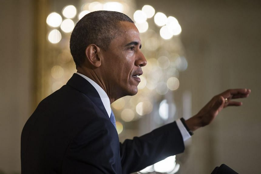 US President Barack Obama speaks at a conference at the White House on July 13, 2015. Congress now has 60 days to review the deal and vote on whether to approve or disapprove it.